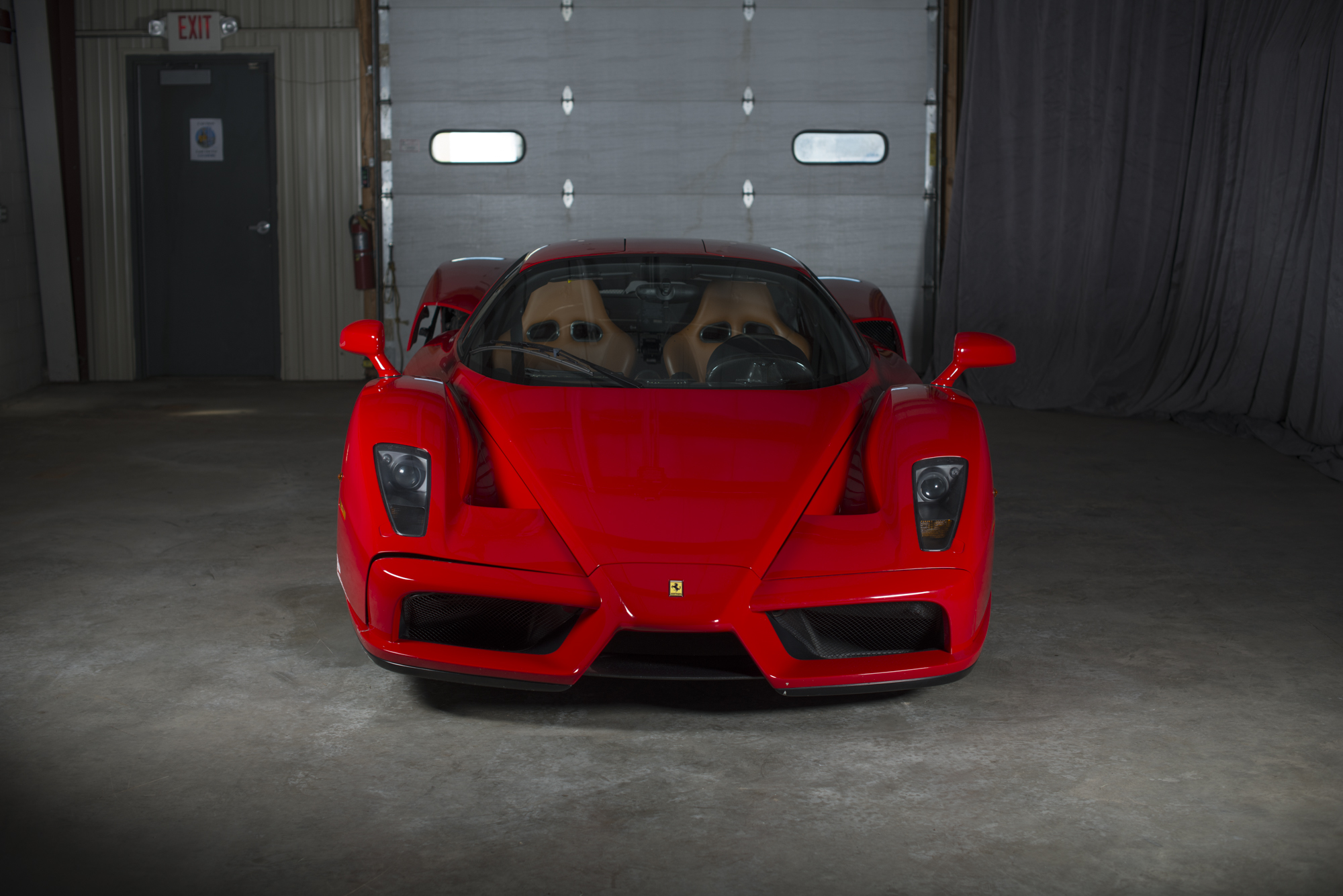 Ferrari Enzo crashed exotic
