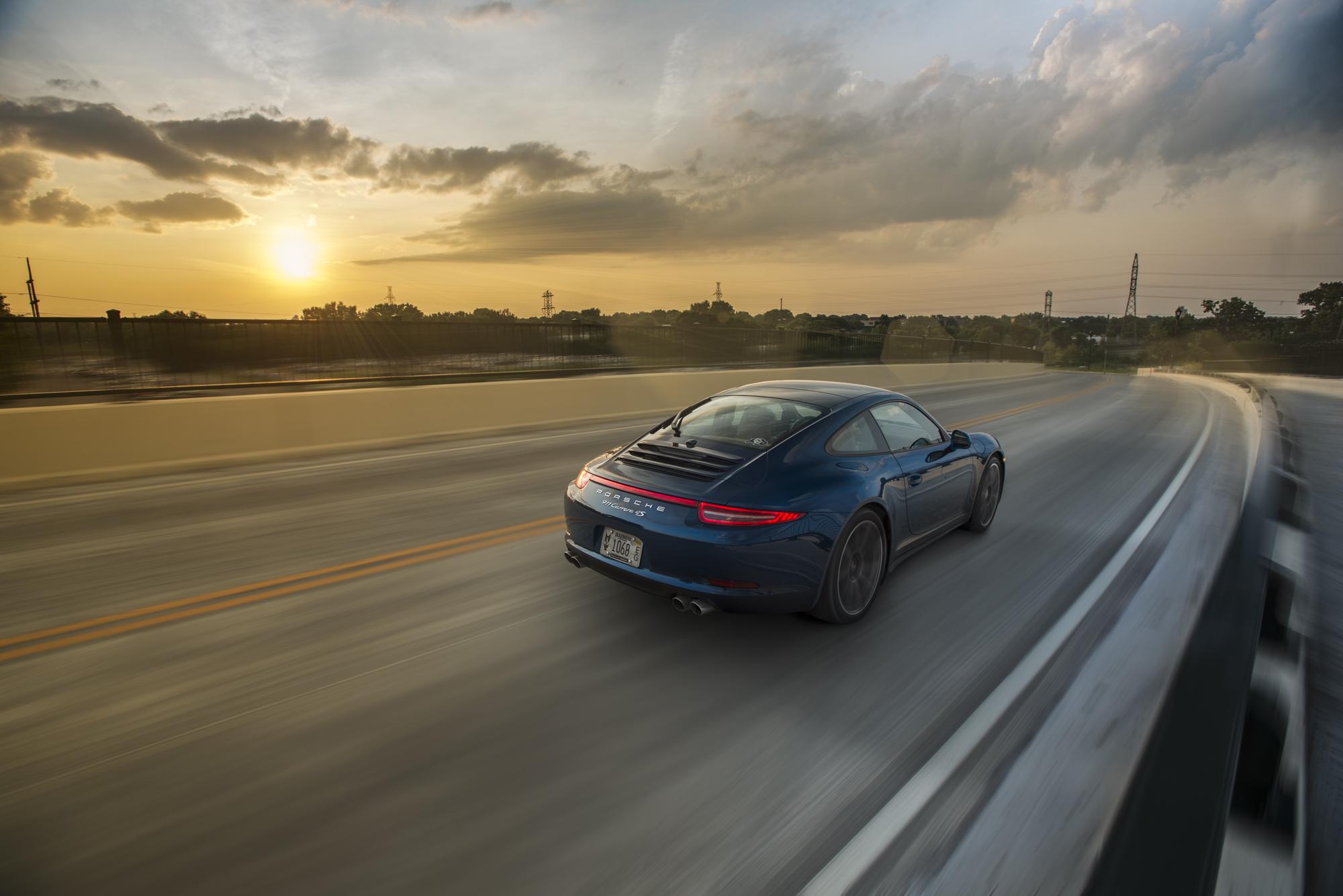 Porsche 911 Sunset