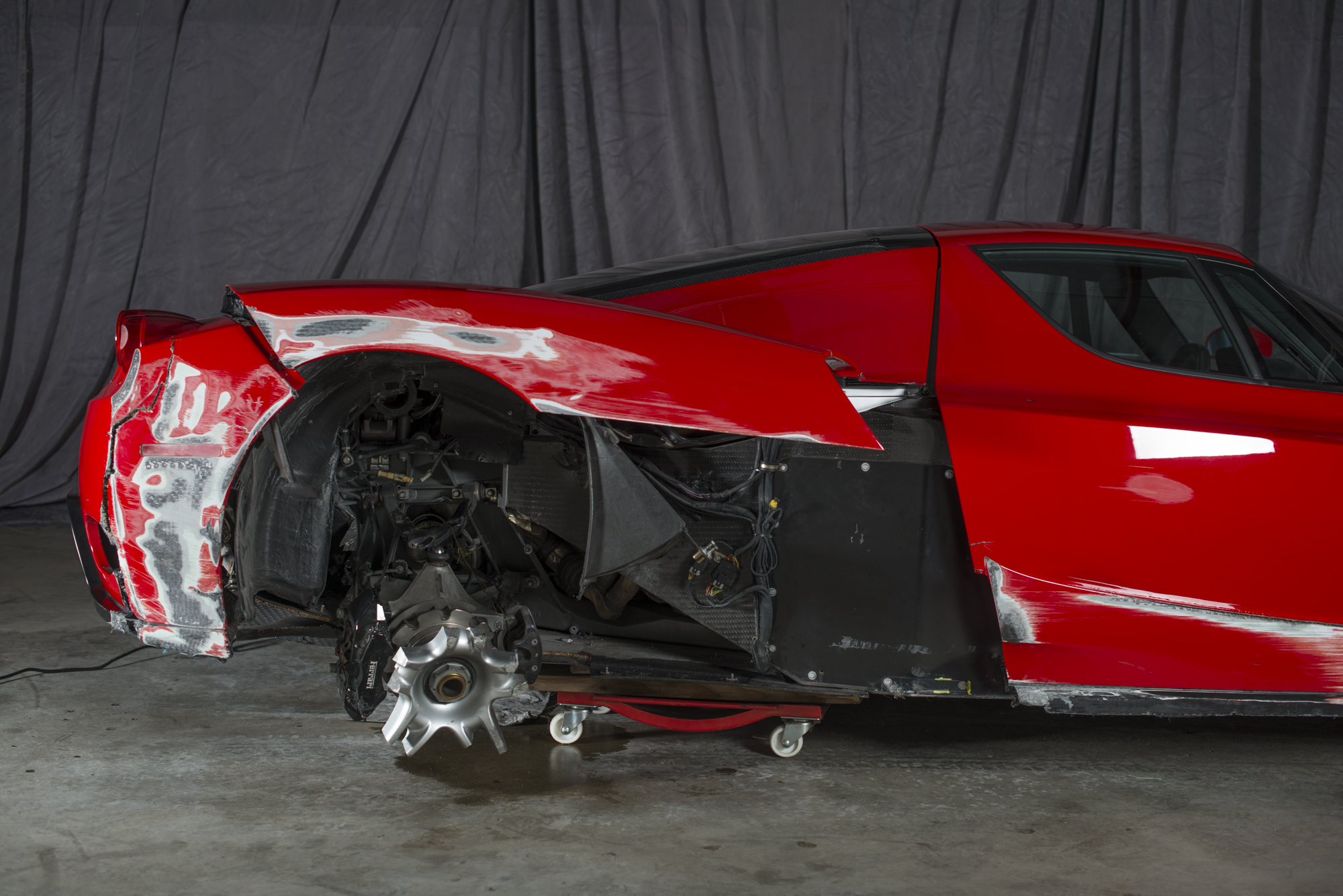 Ferrari Enzo Supercar Damage