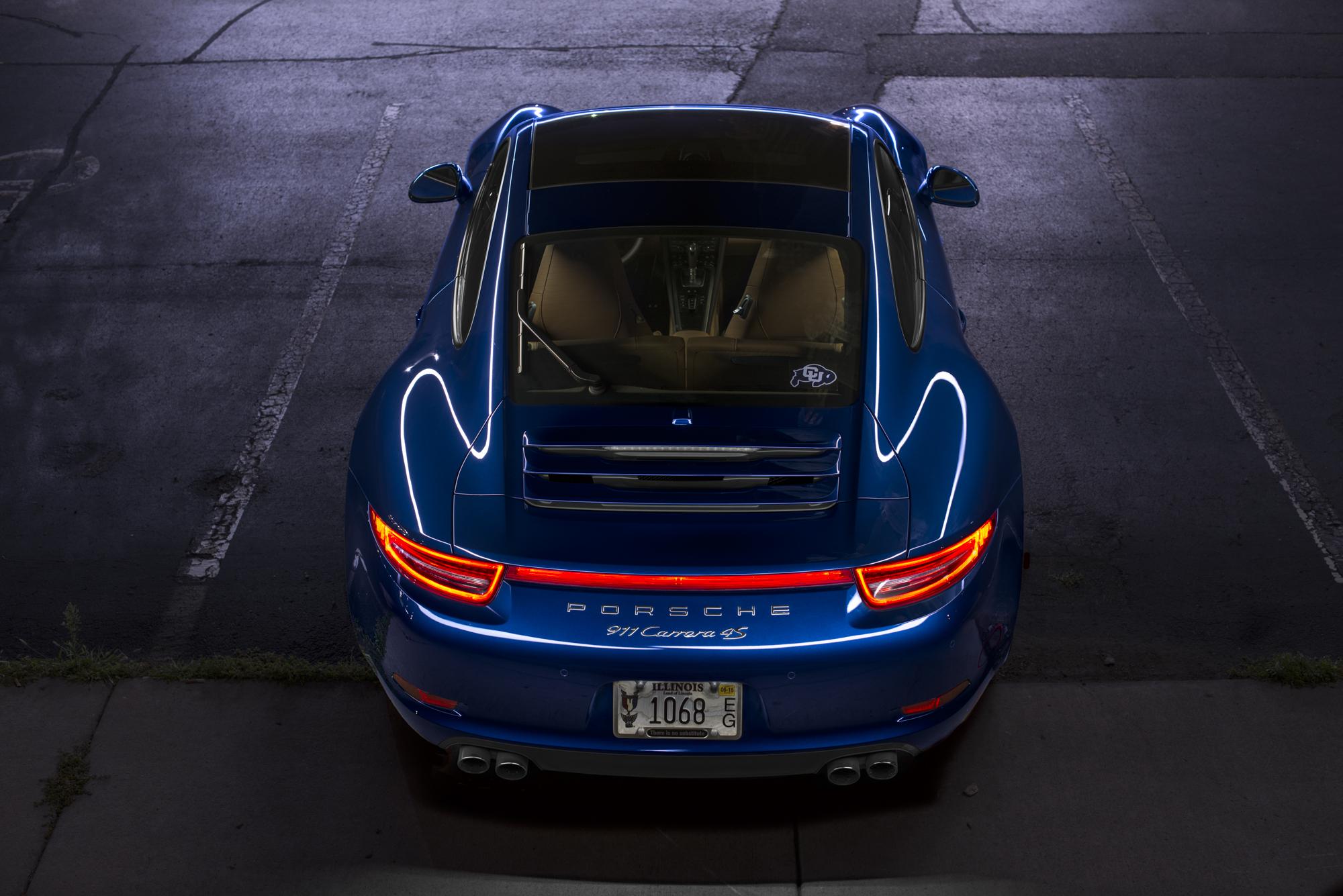 Porsche 911 Night