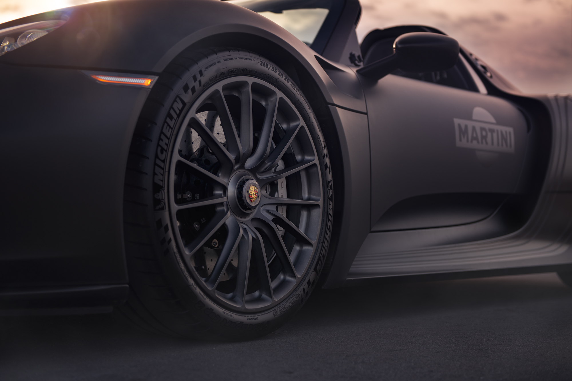 Porsche 918 HRE Wheels