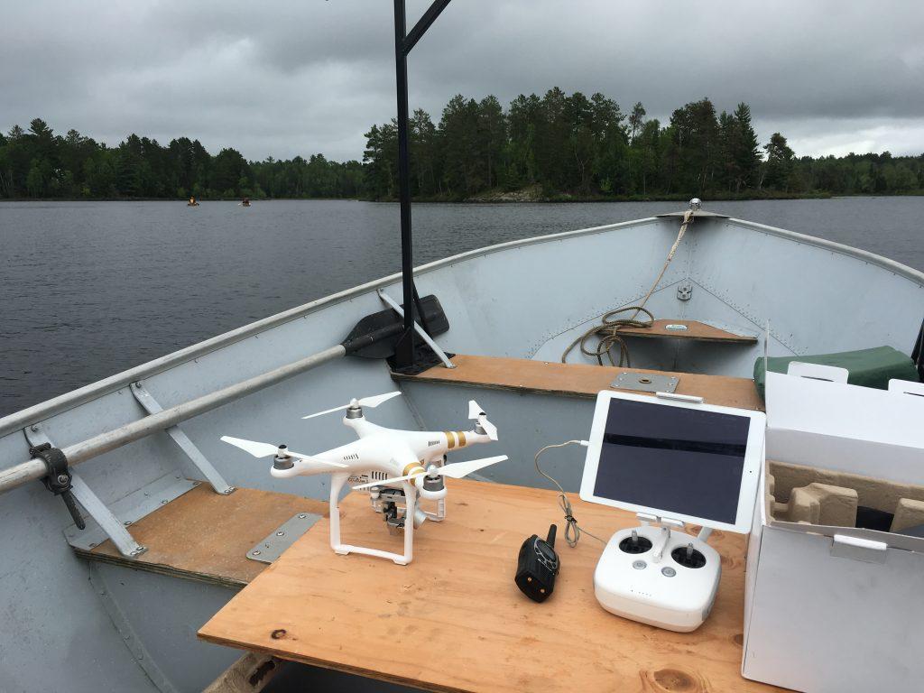Drone launch platform