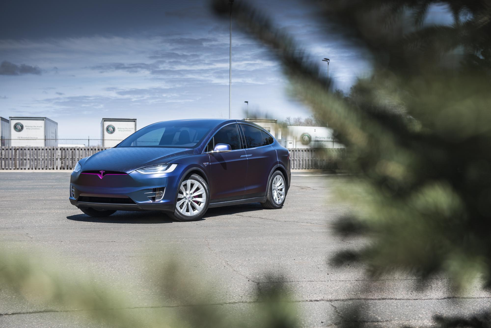 Tesla Model X Custom Vinyl Wrap