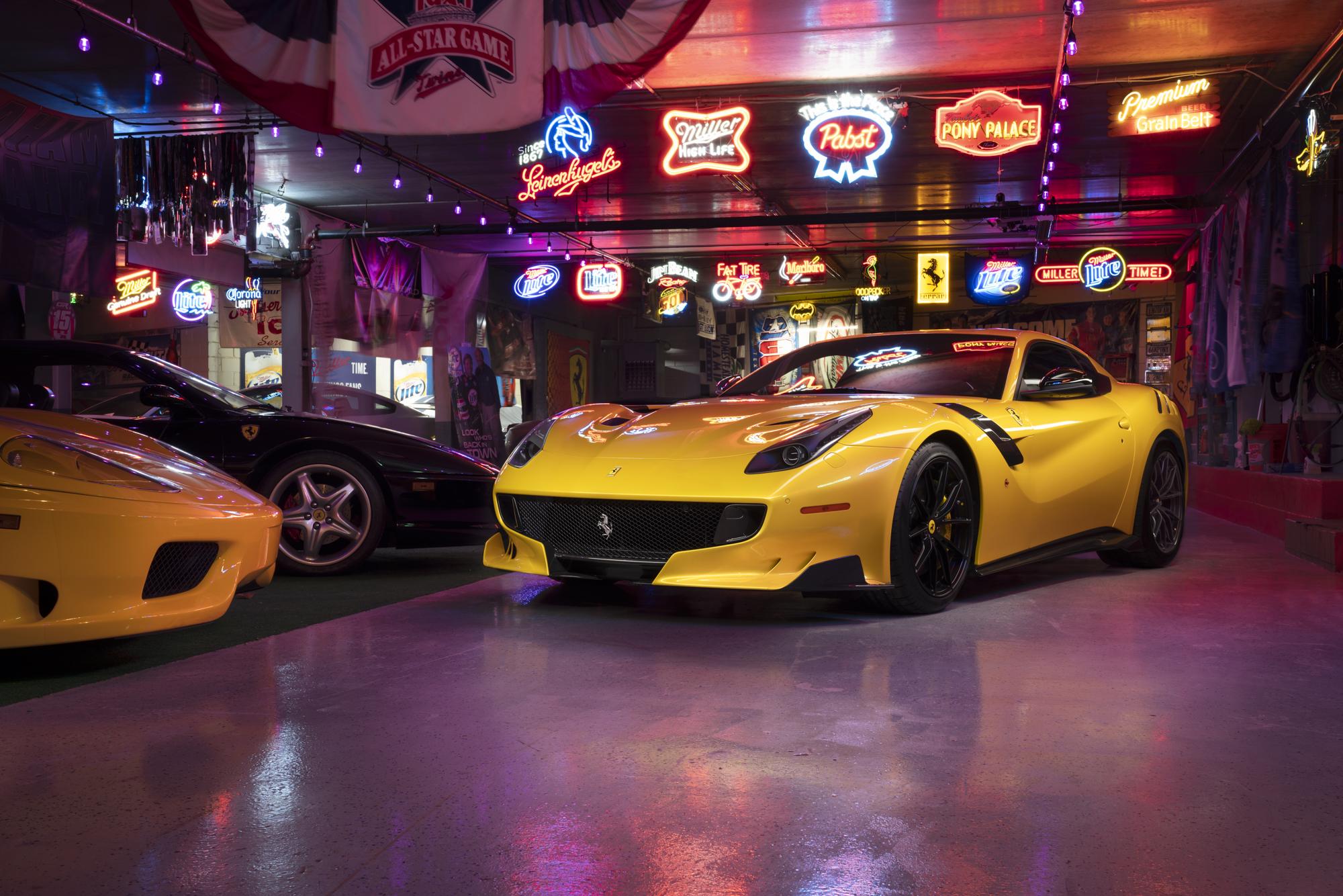 Ferrari F12 TDF giallo triplo strato